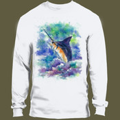 Fish On Printed on Back